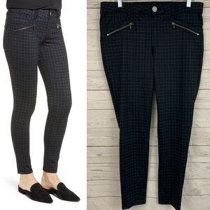 Wit & Wisdom ab-solution ponte plaid skinny pants